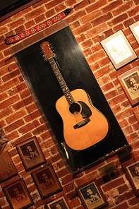Jim Croce Acoustic Guitar Display