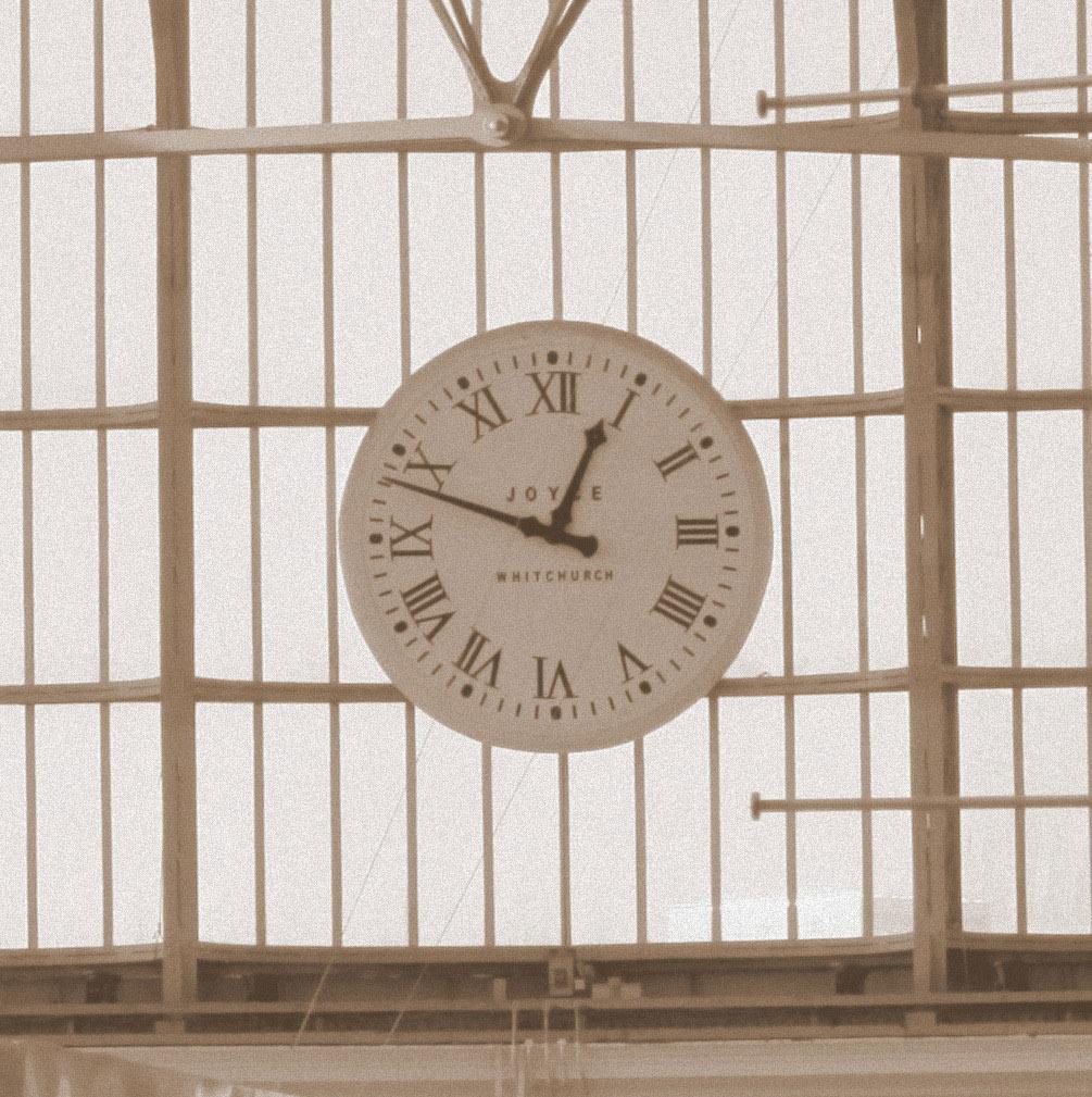 Clock Train Station Liverpool